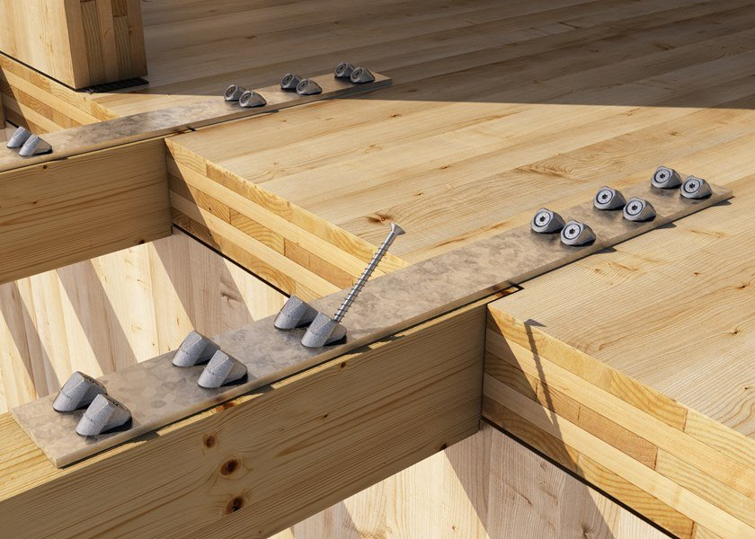 VGS VGS: giunzione acciaio-legno con rondella VGU