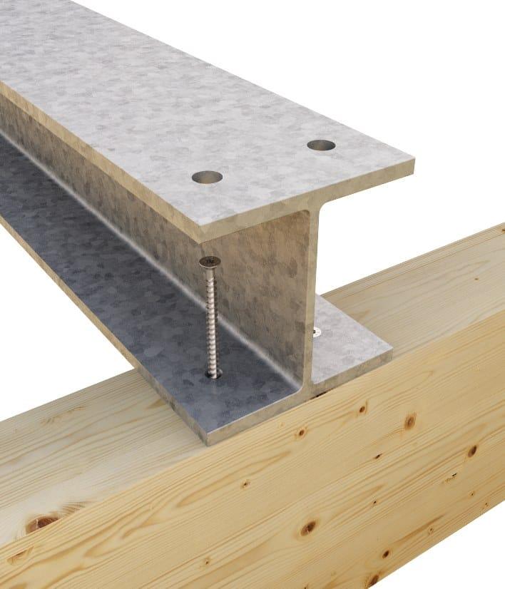VGS VGS: giunzione acciaio - legno