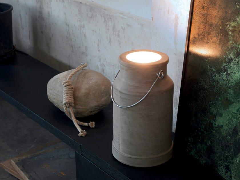 LED cement Floor lamp VIA LATTEA by Karman