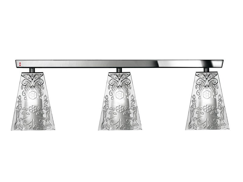 Crystal ceiling lamp VICKY   Crystal ceiling lamp by Fabbian