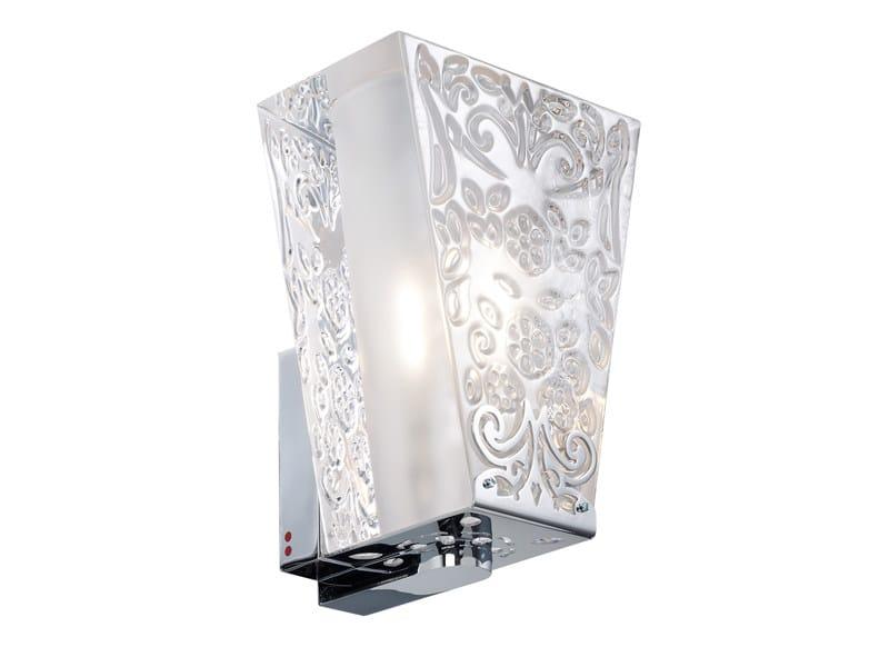 Crystal wall light VICKY | Wall light by Fabbian
