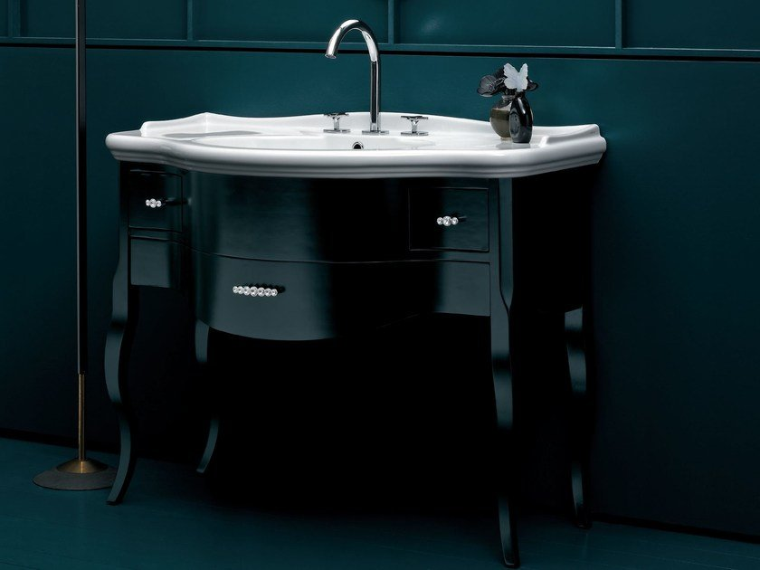 Undermount ceramic washbasin VICTORIAN STYLE | Inset washbasin by AZZURRA sanitari
