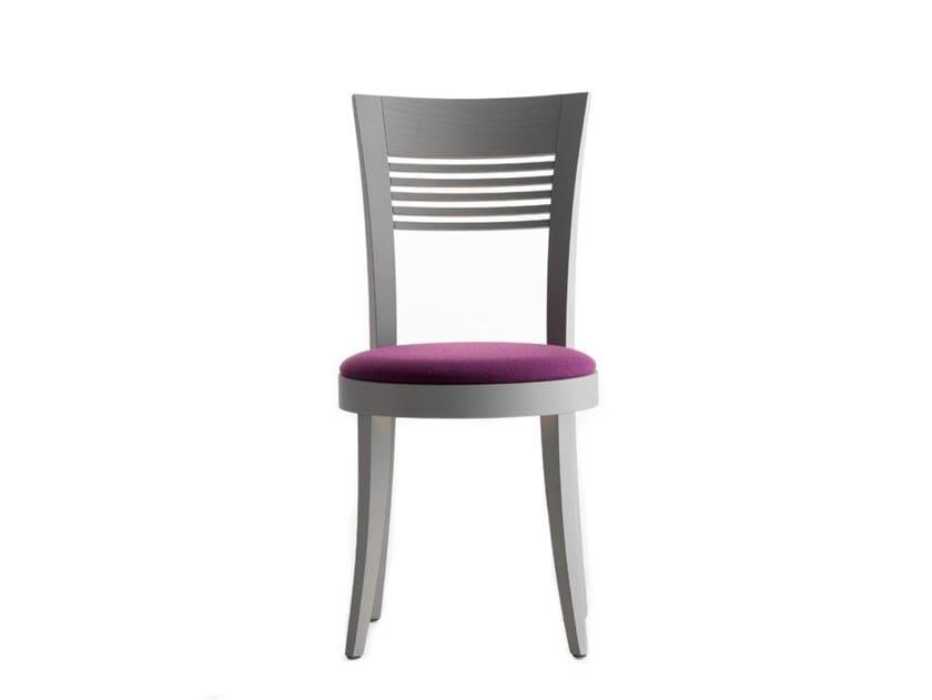 Wooden chair VIENNA 01312 by Montbel