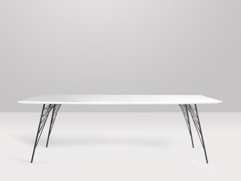 Rectangular quartz table VIENNA | Rectangular table by Recor Home