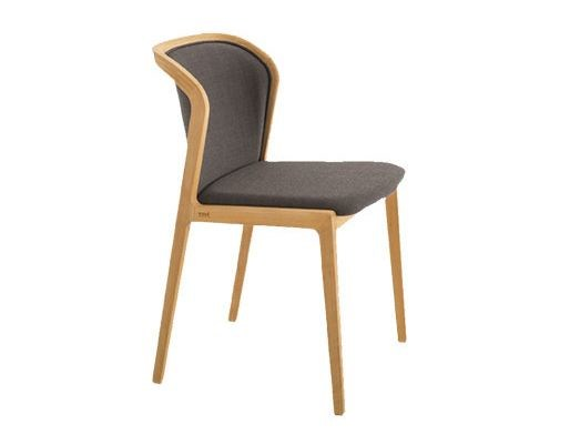 Upholstered fabric chair VIENNA SOFT | Chair by Colé Italia