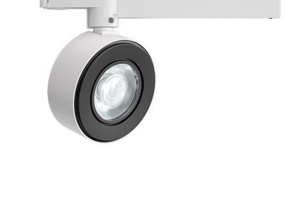 Illuminazione a binario a LED in alluminio pressofuso VIEW OPTI BEAM LENS ROUND | Illuminazione a binario by iGuzzini