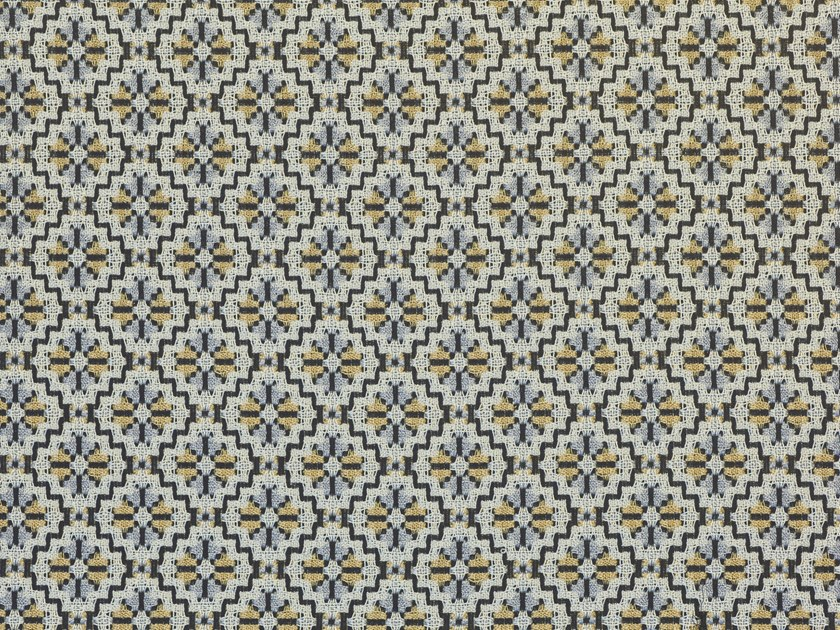 Jacquard polyester upholstery fabric VIKIAN by Dedar