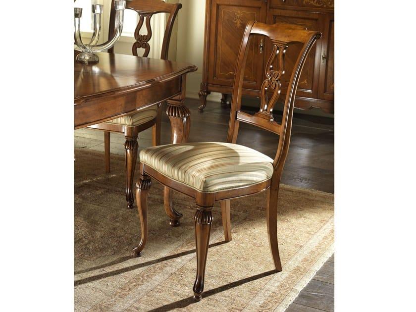 Upholstered fabric chair VILLA GIUSTI | Chair by MOLETTA