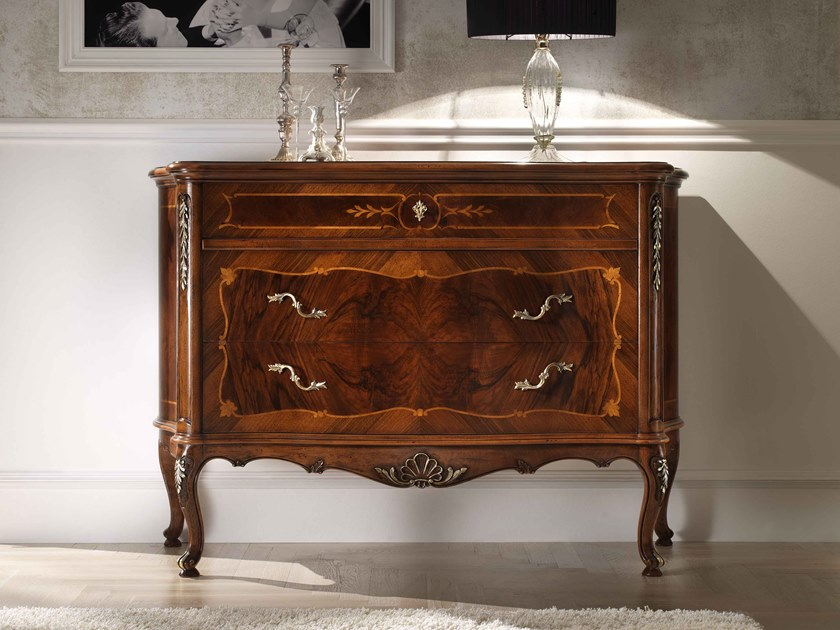 Walnut chest of drawers VILLA PISANI | Chest of drawers by MOLETTA