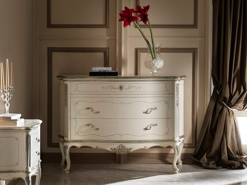 Lacquered walnut chest of drawers VILLA PISANI | Lacquered chest of drawers by MOLETTA