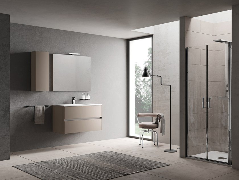 Sectional vanity unit VILLAGE by INDA®