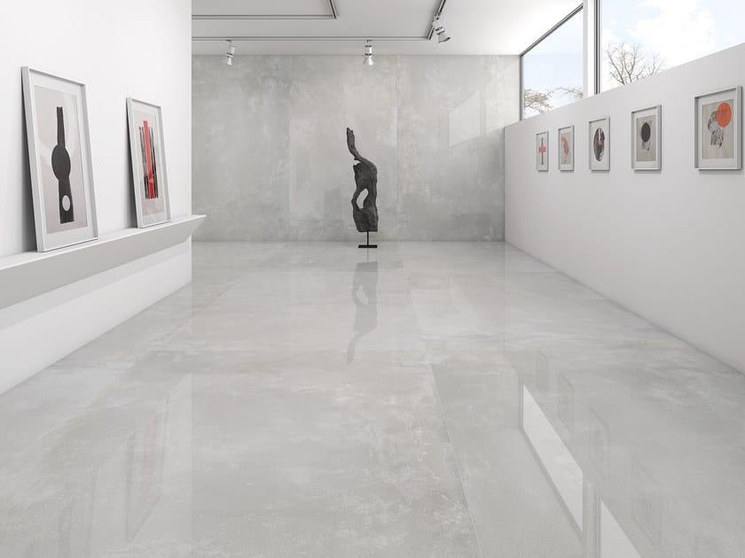 Sintered ceramic wall/floor tiles with concrete effect VILLAGE | Sintered ceramic wall/floor tiles by ITT Ceramic