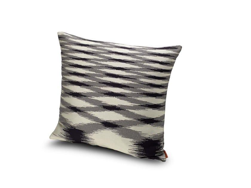 Motif Trevira® CS cushion with fire retardant padding VILLASIMIUS by MissoniHome