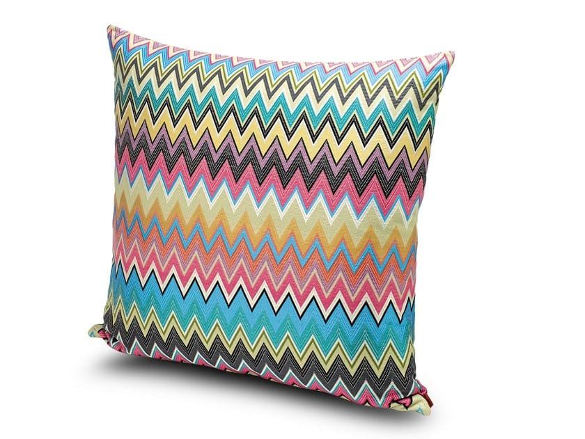 Square fabric cushion VINCI | Cushion by MissoniHome