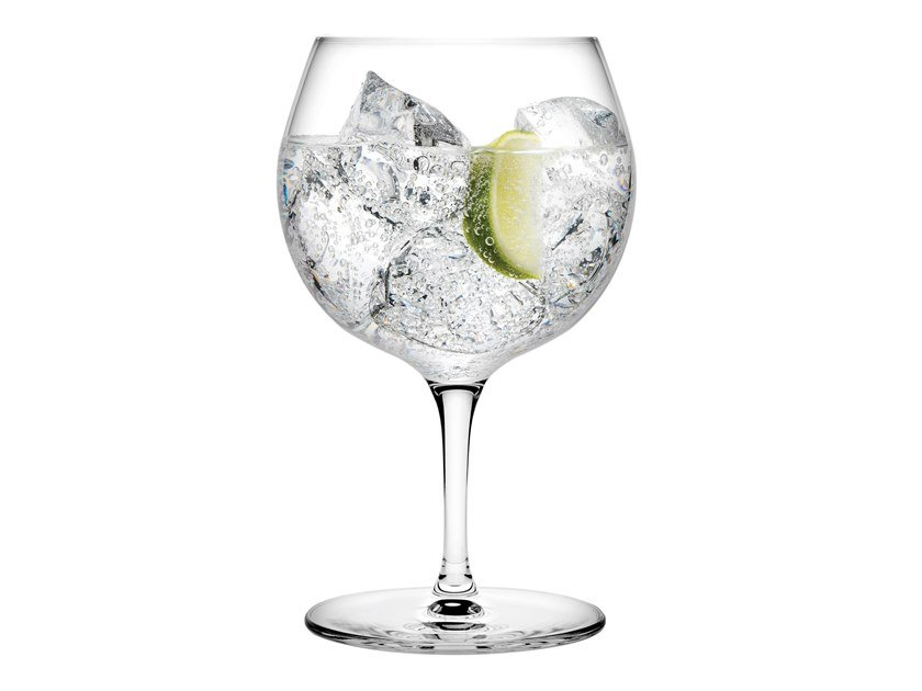 Set of 2 Gin Tonic Glasses VINTAGE GIN TONIC by NUDE