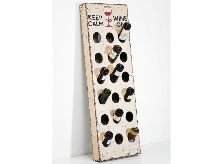 Chipboard bottle rack VINTAGE by KARE-DESIGN
