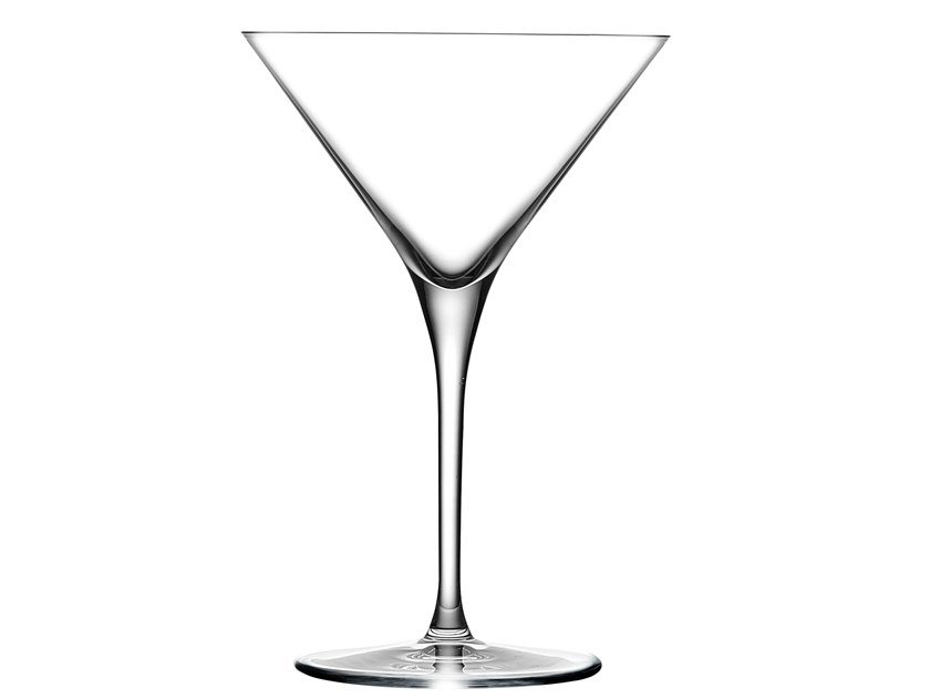 Set of 2 Martini Glasses VINTAGE MARTINI by NUDE