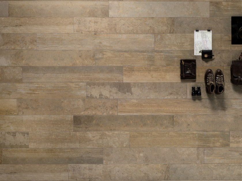 Porcelain stoneware wall/floor tiles with wood effect VINTAGE OCRA by ASTOR CERAMICHE