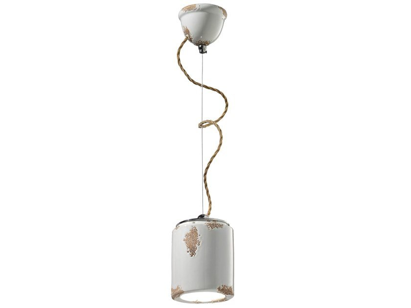 Lampada a sospensione in ceramica VINTAGE | Lampada a sospensione by FERROLUCE