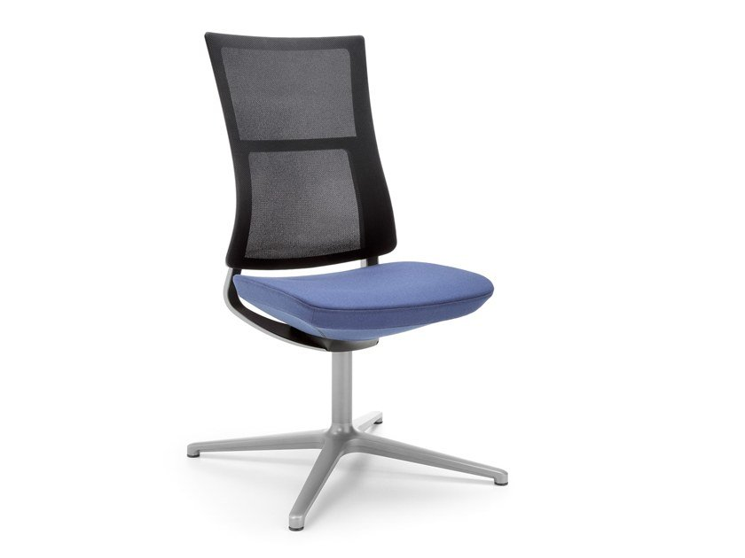 Mesh task chair with 4-Spoke base VIOLLE 150F by profim