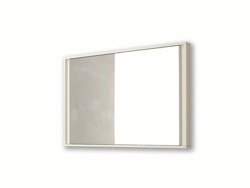 Rectangular wall-mounted framed mirror VIP | Wall-mounted mirror by Gruppo Tomasella