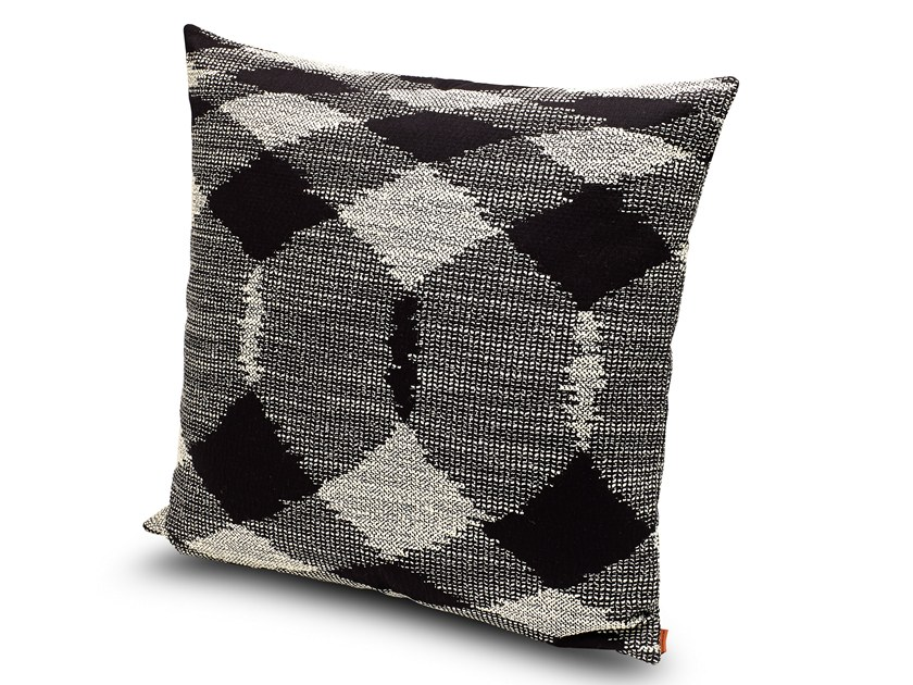 Contemporary style motif fabric sofa cushion VISBY | Cushion by MissoniHome