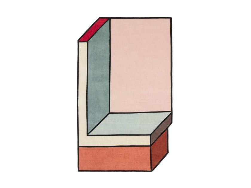 Tappeto fatto a mano VISIONI A by cc-tapis