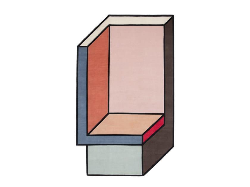 Tappeto fatto a mano VISIONI B by cc-tapis