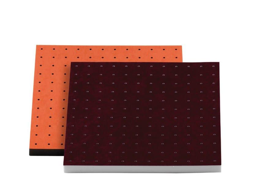Foam decorative acoustical panel VISQUARE PRO 60.4 PREMIUM by Vicoustic by Exhibo
