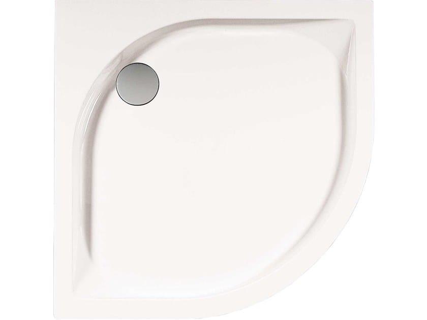 Piatto doccia angolare semicircolare VISUAL | Piatto doccia semicircolare by Hidrobox