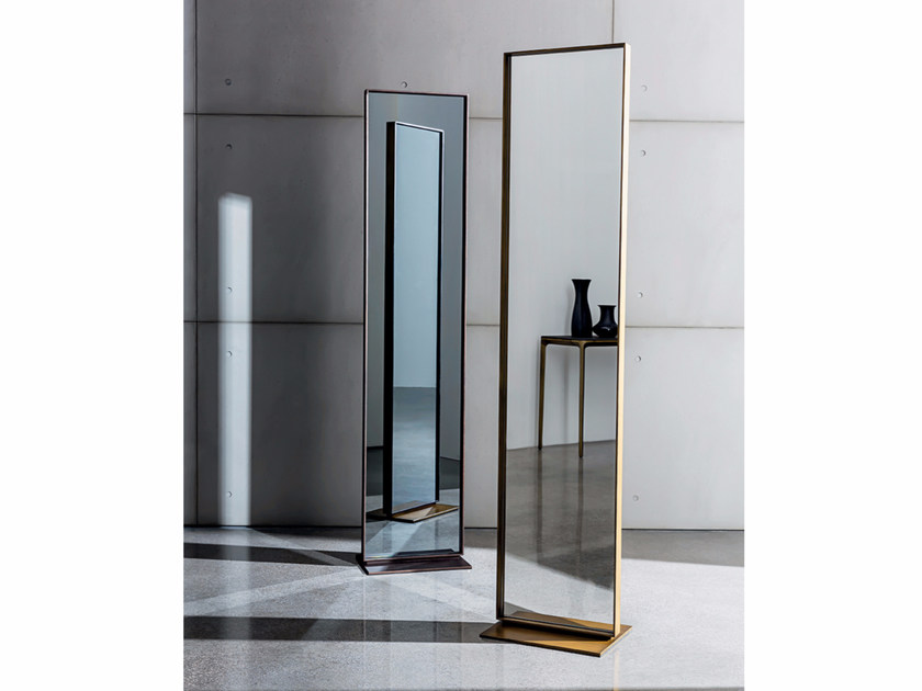 Freestanding Mirror Visual Free Standing By Sovet Italia