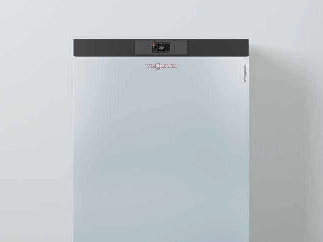 Gas floor-standing condensation boiler VITOCROSSAL 200 CRU by VIESSMANN