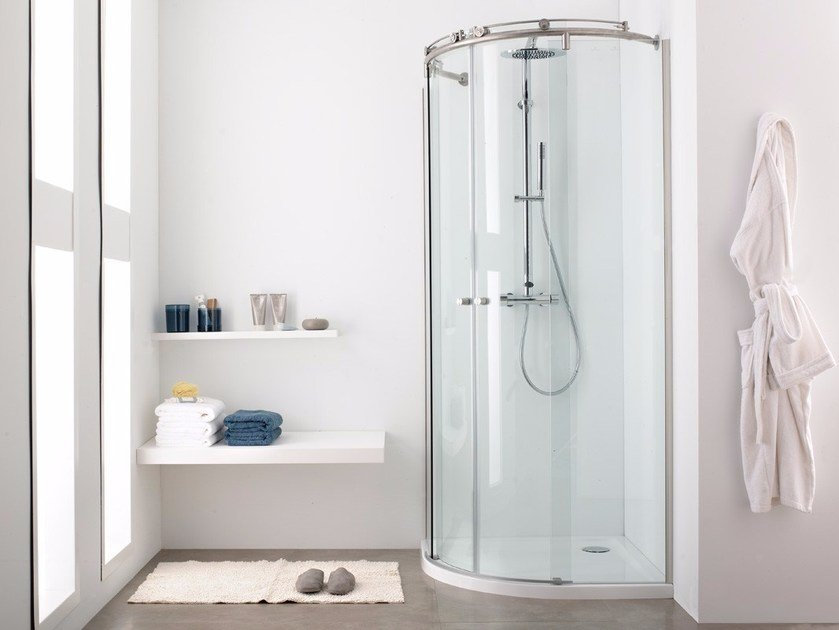 Systempool glass shower cabin vitra 6systempool