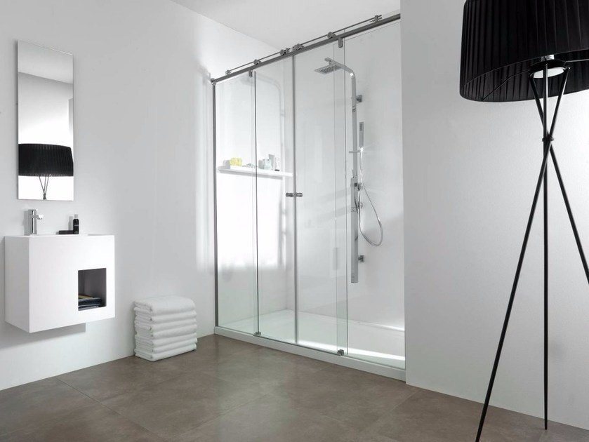 Glass shower cabin VITRA 9 by Systempool