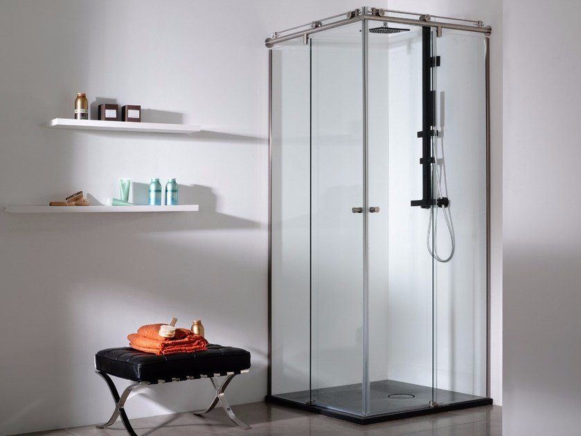 Glass shower cabin VITRA by Systempool