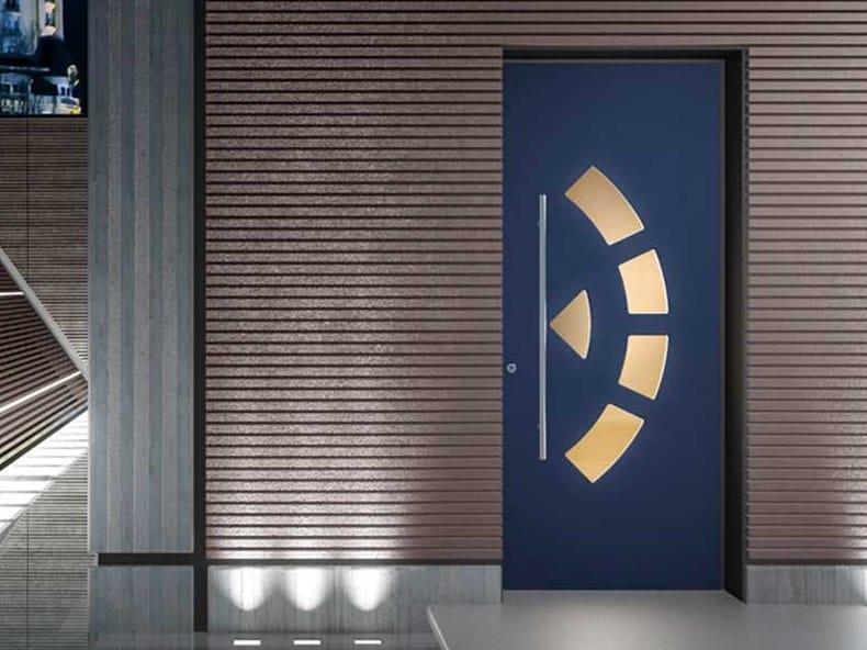 Exterior glazed safety door VITRUM by COCIF