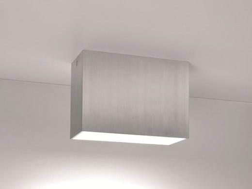 Direct-indirect light aluminium ceiling light VIVA TR by BEL-LIGHTING