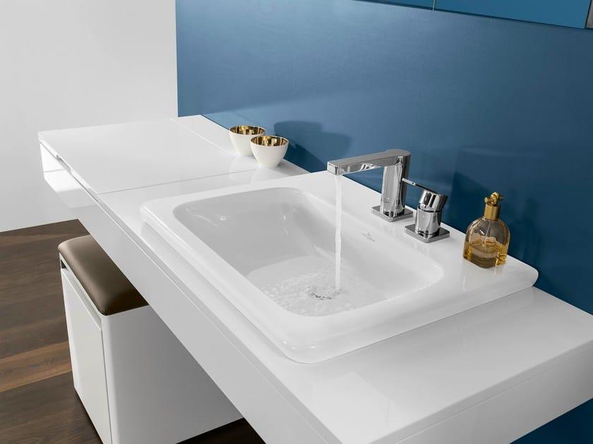 Rectangular washbasin VIVIA | Washbasin by Villeroy & Boch