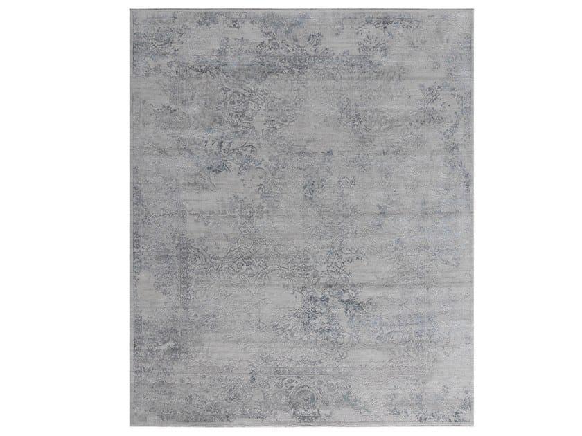 Tappeto fatto a mano su misura VIVIANE VIV 9 F1 GREY by Thibault Van Renne