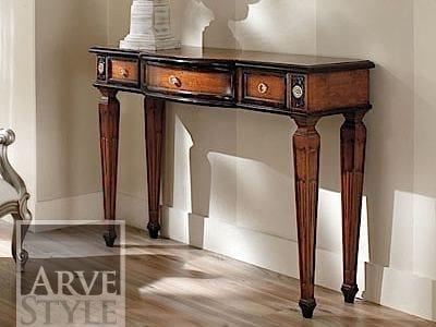Consolle rettangolare in legno massello VIVRE LUX | Consolle laccata by Arvestyle