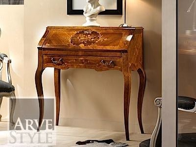 Solid wood secretary desk VIVRE LUX | Secretary desk by Arvestyle