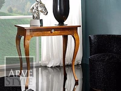 Rectangular solid wood console table with drawers VIVRE LUX | Console table by Arvestyle
