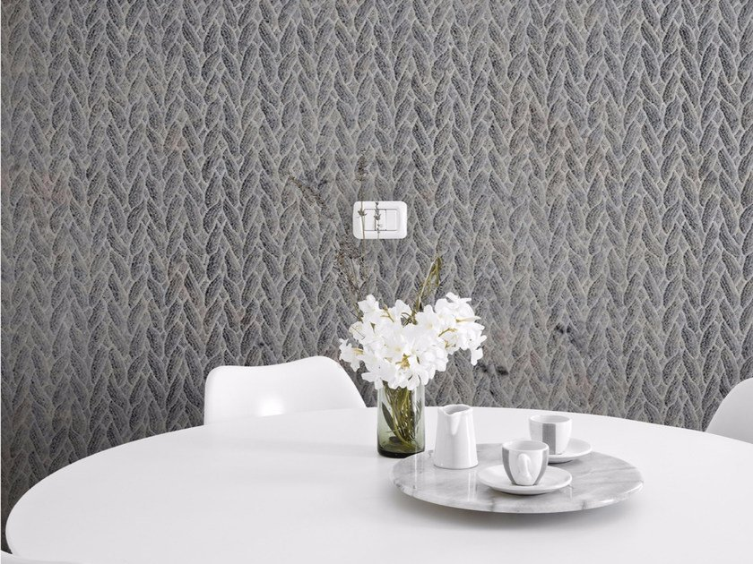 Motif panoramic wallpaper VOCALESE TRECCIA by Inkiostro Bianco