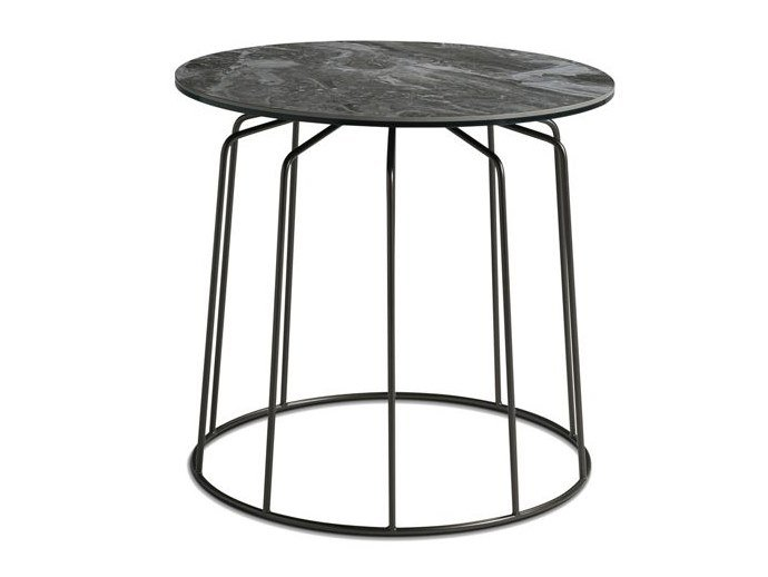 Lacquered round coffee table VOGUE | Coffee table by ROCHE BOBOIS