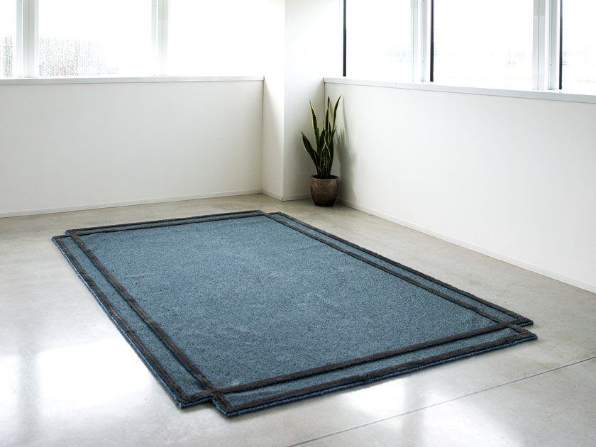 Rectangular fabric rug VOLENTIERI by Magis