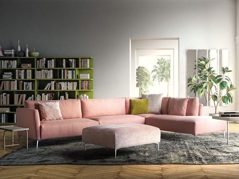 Corner sofa with chaise longue VOLO Sofa with chaise longue By PIANCA