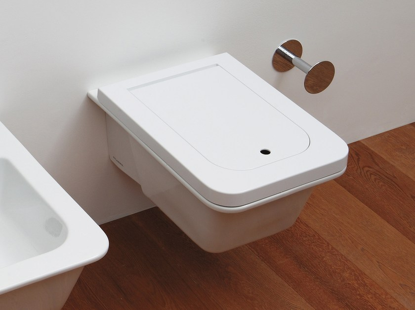 Wall-hung ceramic toilet VOLO | Wall-hung toilet by CERAMICA FLAMINIA