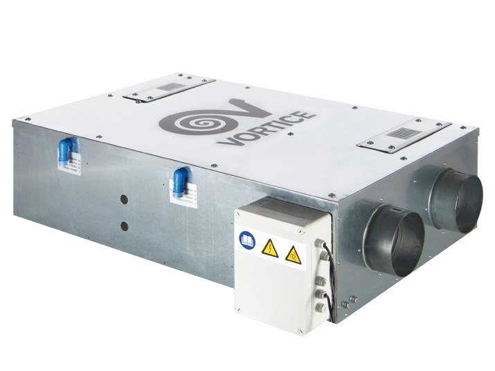 Recuperatore di calore per controsoffitti VORT HRI 200 FLAT by Vortice