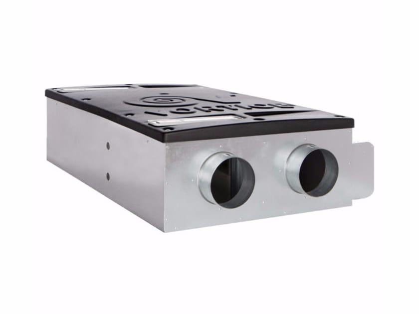 Heat recovery unit for false ceiling VORT HRI 200 PHANTOM B.P. by Vortice
