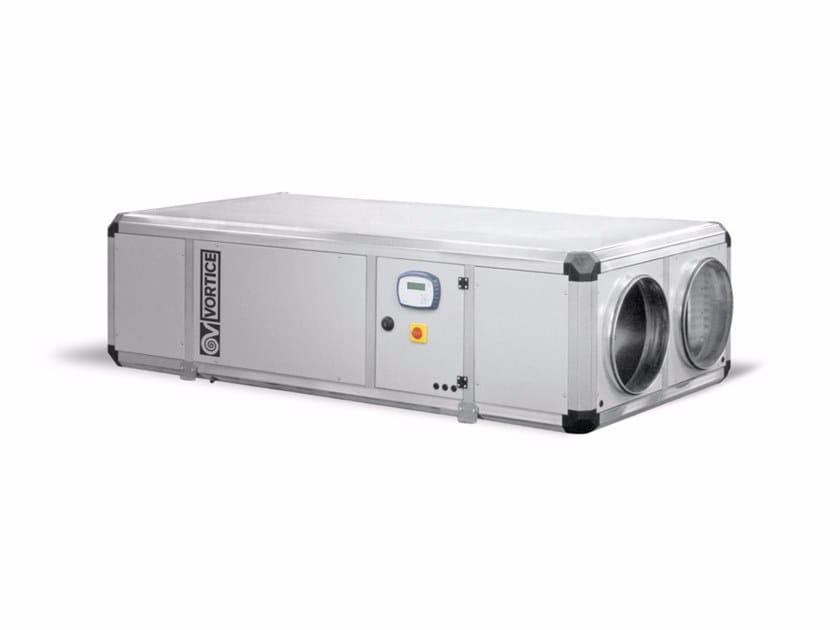 Recuperatore di calore per uso industriale VORT NRG 4500 EC by Vortice